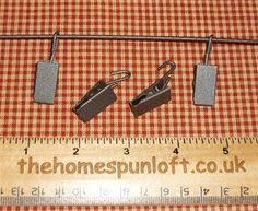 How to Make Quilt Hangers | Quilt hangers, Metal hangers and Mini ... & Wire Quilt Hanger Clip - A wire hanger clip, to attach your mini quilt to Adamdwight.com
