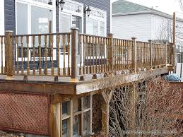 how build deck railing how to build deck railings victorian deck design deck bars and