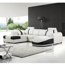 white leather sofa elegant design ideas for living room interior