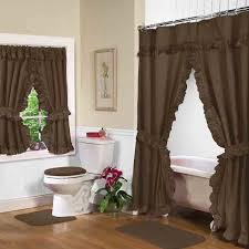 shower curtains with valance and tiebacks endearing tie back curtain 5
