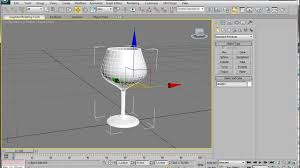 3ds Max Game Design 3ds Max Spline Modeling A Wine Glass 3ds Max 3d Tutorial