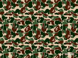 Bape Pattern Cool Bape Clothing Styles And Characters