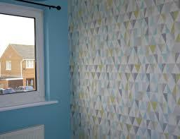 Next Bedroom Wallpaper Boys Bedroom Blue Grey And Yellow Renovation Bay Bee