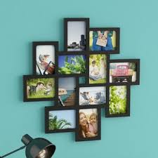 multiple picture frames wood. Nordman 12 Opening Decorative Wood Photo Collage Wall Hanging Picture Frame Multiple Frames