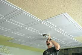 glue up ceiling tiles tin awesome conventional panels present 1
