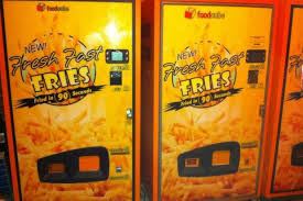 Vending Machine In French Adorable French Fries At 48 Am Australian Vending Machine Manteresting