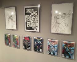 61 best man cave comic book display record al display