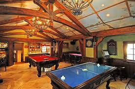 Home game room Design Out Of These Game Rooms Which One Do You Prefer Prefer 4 It Has Great Layout And Love The Furniture Grade Game Tables Interior Design Lovetoknow Which Game Room Do You Prefer Homes Of The Rich