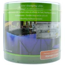 Rgb Lights Walmart Mainstays Color Changing Led Tape Light With Remote Walmart Com
