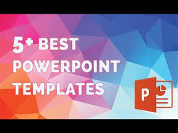 Good Powerpoint Examples Best Powerpoint Templates The 5 Best Presentation Template Youtube