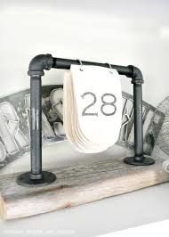Themed Diy Industrial Decor Diy Industrial Desk Calendar Industrail Shelves Furniture Table Diy Joy 34 Industrial Style Diy Ideas