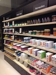 Small Retail Pharmacy Design Apivita Store In Madrid Retail Store Design Pharmacy