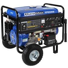 duromax watt hp gas generator w elect start wheel kit