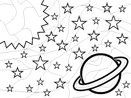 Outer Space Coloring Pages Outer Space