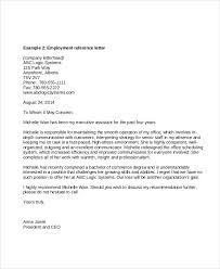 Recommendation Letter For Office Assistant Reference Letters