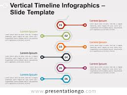 Timeline Powerpoint Slide Vertical Timeline Infographics For Powerpoint And Google Slides