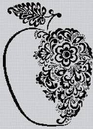 Blackwork Cross Stitch Charts Needlecrafts Yarn Blackwork Floral Ballerina Cross Stitch