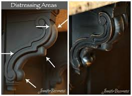black painted furniture ideas. How To Distress Painted Furniture The Right Way From Http://www.jenniferdecorates Black Ideas