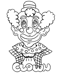 Small Picture Circus Happy Clown Coloring Pages Womanmatecom