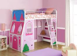 Princess Castle Bedroom Furniture Dhp Furniture Imagination Princess Castle Junior Loft