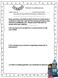 How To Prepare For Parent Conferences Easy Teaching Tools
