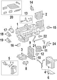 parts com® mercedes benz blower motor partnumber 1638203442 2001 mercedes benz ml430 base v8 4 3 liter gas evaporator heater components