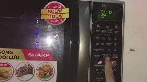 Hướng dẫn nướng thịt và sử dụng an toàn bằng lò vi sóng sharp. Electron 43  - YouTube