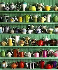 what an incredible collection of teapots