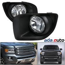 2016 Chevy Colorado Fog Light Kit Details About 2015 2016 2017 Gmc Canyon Clear Lens Fog Lights Bumper Lamps Set