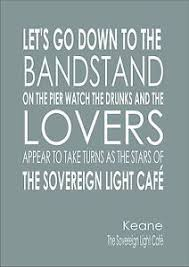 Keane Sovereign Light Caf Sovereign Light Curve Song Lyrics Soundtrack