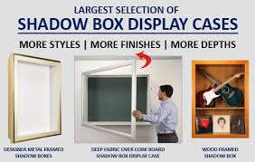 custom shadow boxes
