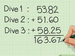 How To Calculate Diving Scores 13 Steps With Pictures
