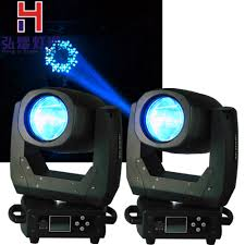 Used Moving Head Stage Lights Us 776 0 2pcs 150w Led Moving Head Beam 8 Facet Prism Lens For Dance Halls Ktv Party Home Decoration Lights Are Widely Used Wedding In Stage