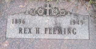 Rex Henry Fleming (1896-1949) - Find A Grave Memorial
