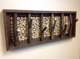 Tree Limb Coat Rack Wood Slices Rustic Barn And Tree Branches On Pinterest Tree Branch 43