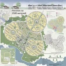 Общественный центр посёлка Архитектура urban  Поселок