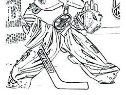 Nhl Coloring Pages Hockey Coloring Pages To Print Hockey Coloring
