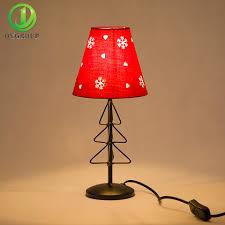 Christmas Decor Led E14 Desk Lamp Coloful Table Lightings For