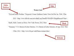 9 10 Work Cited Page Apa Format Se Chercher Com
