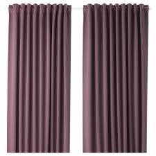 IKEA MAJGULL block-out curtains, 1 pair