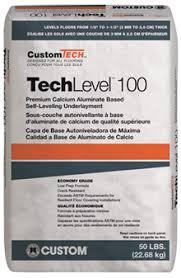 Self Leveling Coverage Chart Techlevel 100 Self Leveling Underlayment