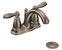 moen 6610orb brantford 2 handle lavatory faucet with drain brantford bathroom faucet oil rubbed bronze