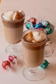 lindt truffles hot chocolate