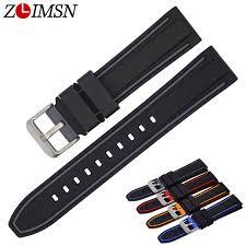 <b>ZLIMSN</b> New Watch accessories Italian cow leather <b>watch band</b> ...
