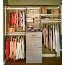 reach in closet organizers do it yourself. Hybrid Custom Closet Kit Reach In Organizers Do It Yourself U