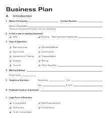 Startup Business Plan Sample Startup Business Model Template