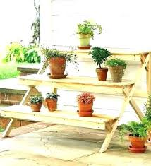patio plant table outdoor plant stands patio plant stands tiered wooden plant stand mission furniture plans