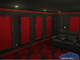 home theater acoustic wall panels. modern design home theater wall panels stunning idea acoustical framed for theaters acoustic u