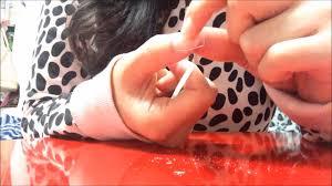 ダイソーのネイルチップで自分に合った付け爪を作ります Youtube