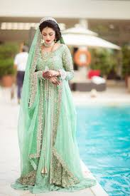 latest stylish stani bridal makeup wedding dresses 2017